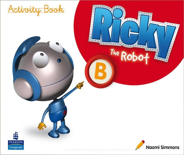 Ricky the robot b wb 11 4años