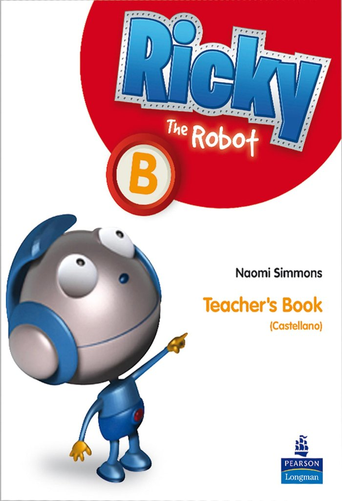 Ricky the robot b teacher's pack (castellano)