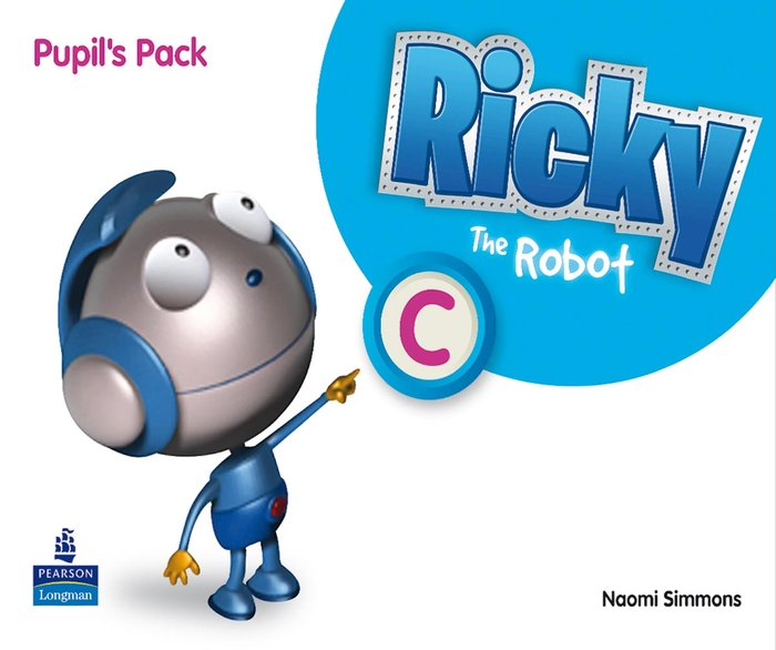Ricky the robot c st 11 pack 5años