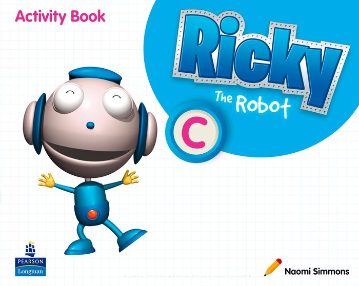 Ricky the robot c wb 11 5años