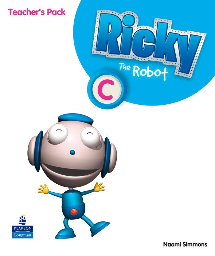 Ricky the robot c teacher's pack (castellano)