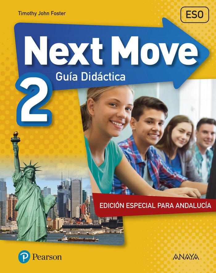 Next move andalusia 2 teacher's book - castellano