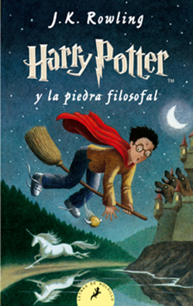 Harry potter 1 la piedra filosofal bolsillo