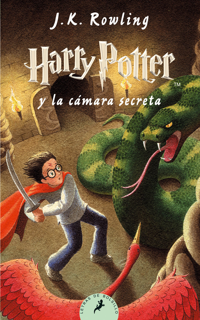 Harry potter ii la camara secreta bolsillo