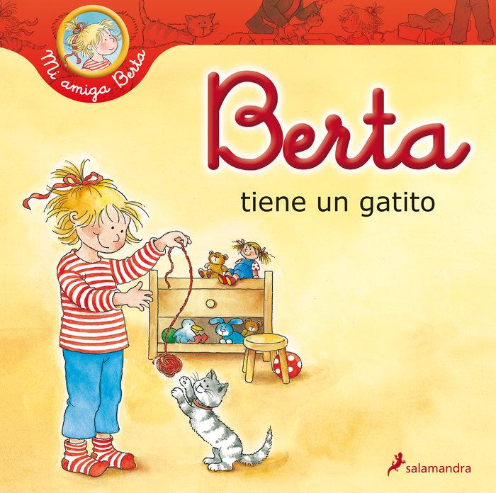 Berta tiene un gatito