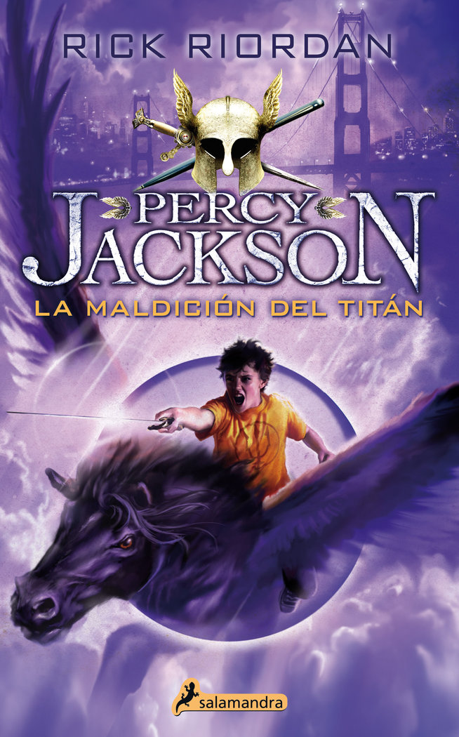 Percy jackson iii maldicion del titan