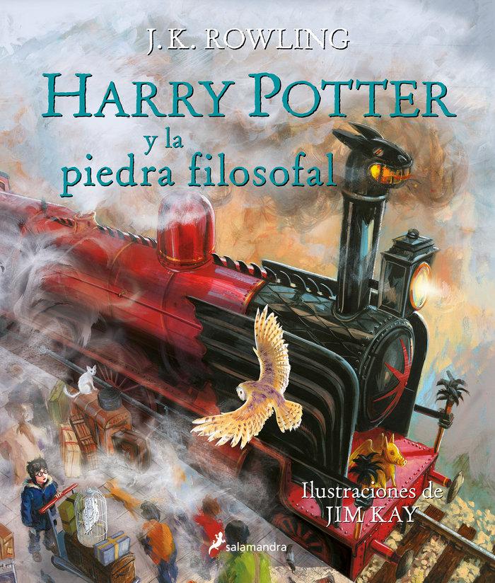 Harry potter 1 la piedra filosofal ilustrado