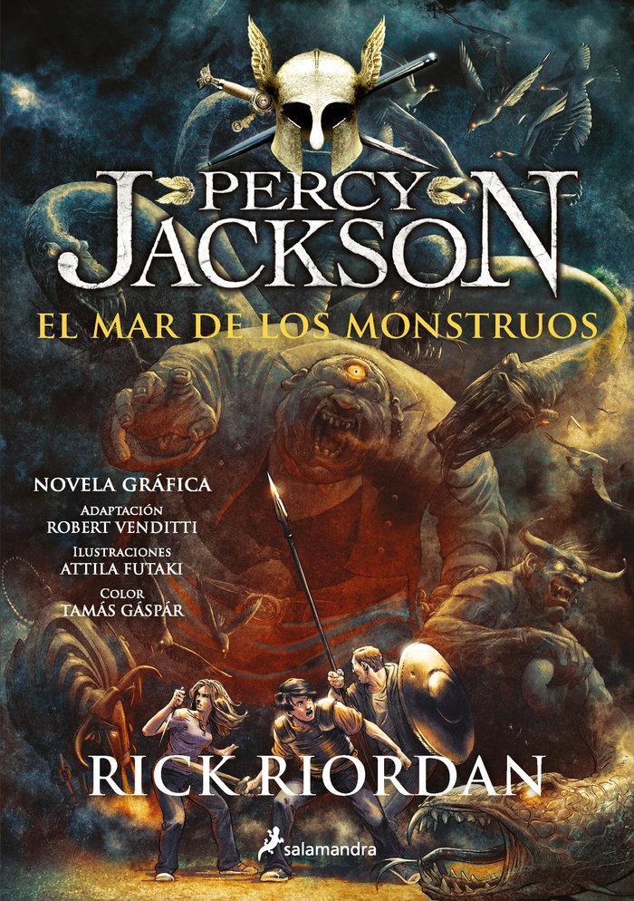 Percy jackson ii el mar de los monstruos novela grafica