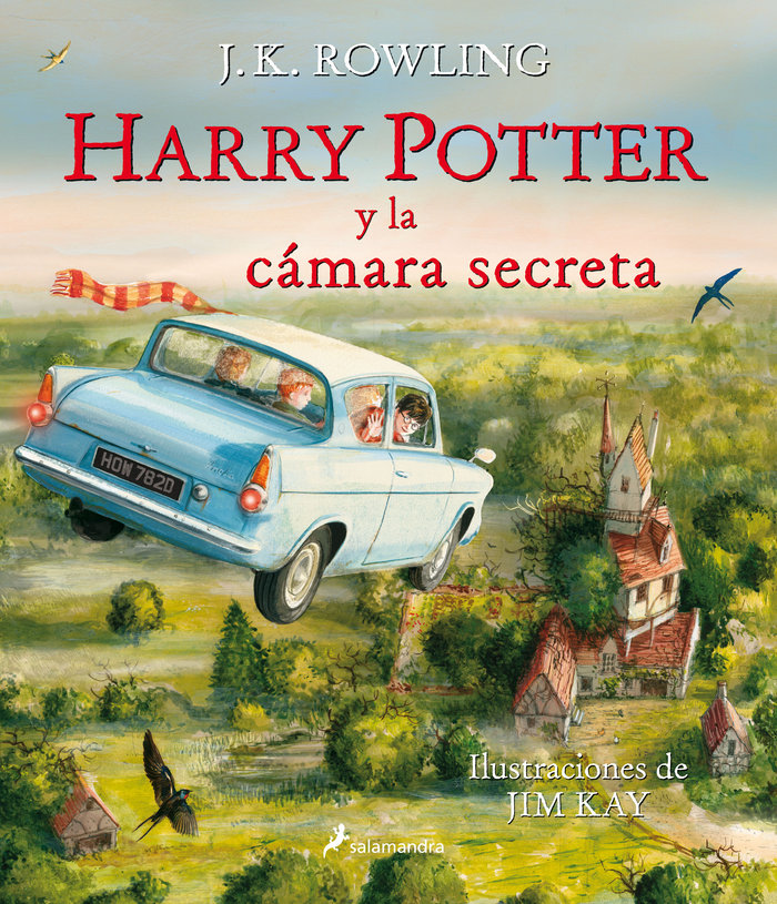 Harry potter 2 la camara secreta ilustrado