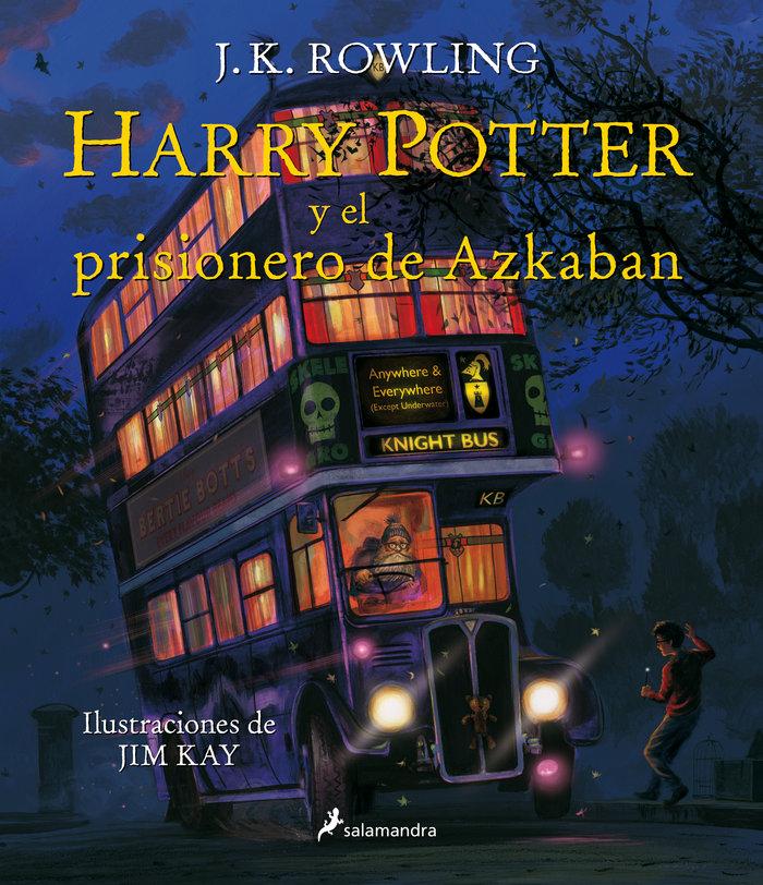 Harry potter 3 el prisionero de azkaban ilustrado