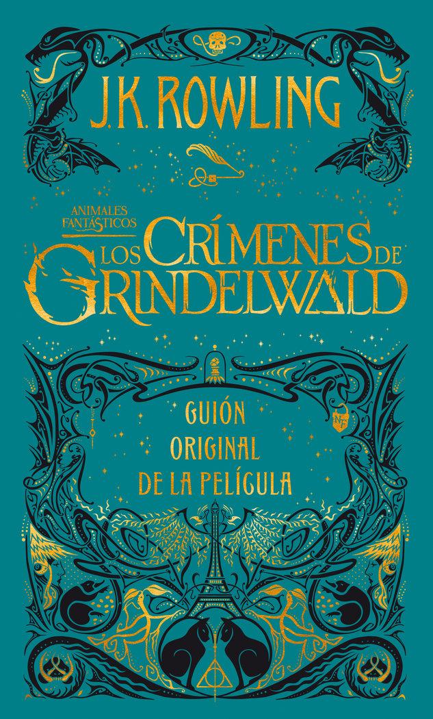 Crimenes de grindelwald guion original,los