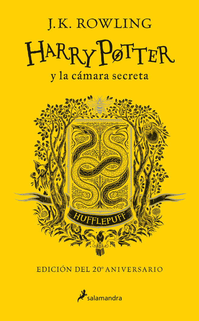 Harry potter y la camara secreta. hufflepuff