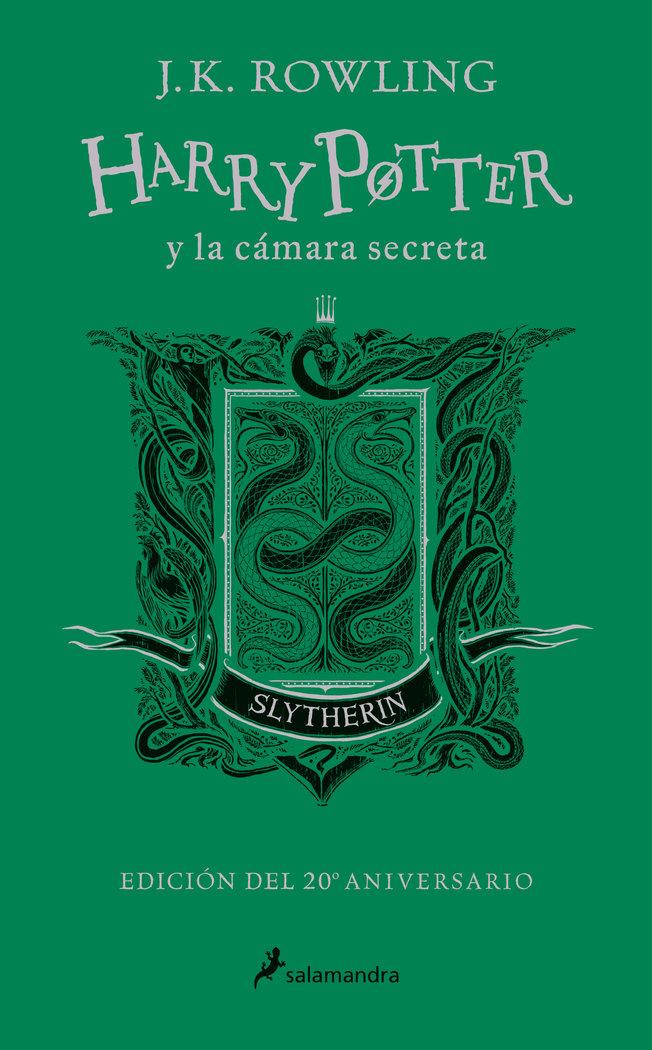Harry potter y la camara secreta. slytherin