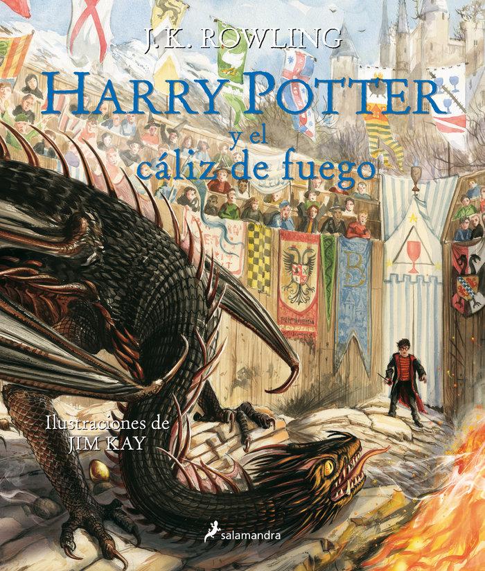 Harry potter iv y el caliz de fuego ilustrado