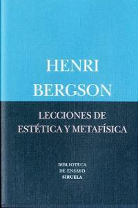 Lecciones de estetica y metafisica
