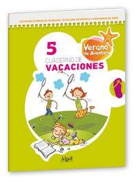 Cuaderno vacaciones verano aventura 5