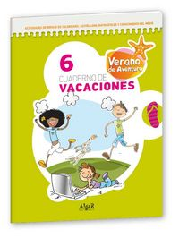 Cuaderno vacaciones verano aventura 6