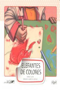 Elefantes de colores mayuscula