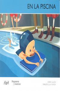 En la piscina mayuscula