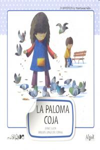 Paloma coja,la mayuscula y manuscrita