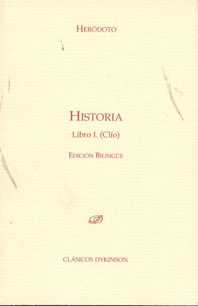 Historia. libro i. clio.