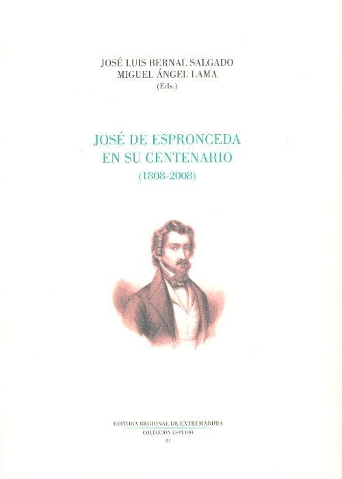 Jose de espronceda en su centenario 1808 2008