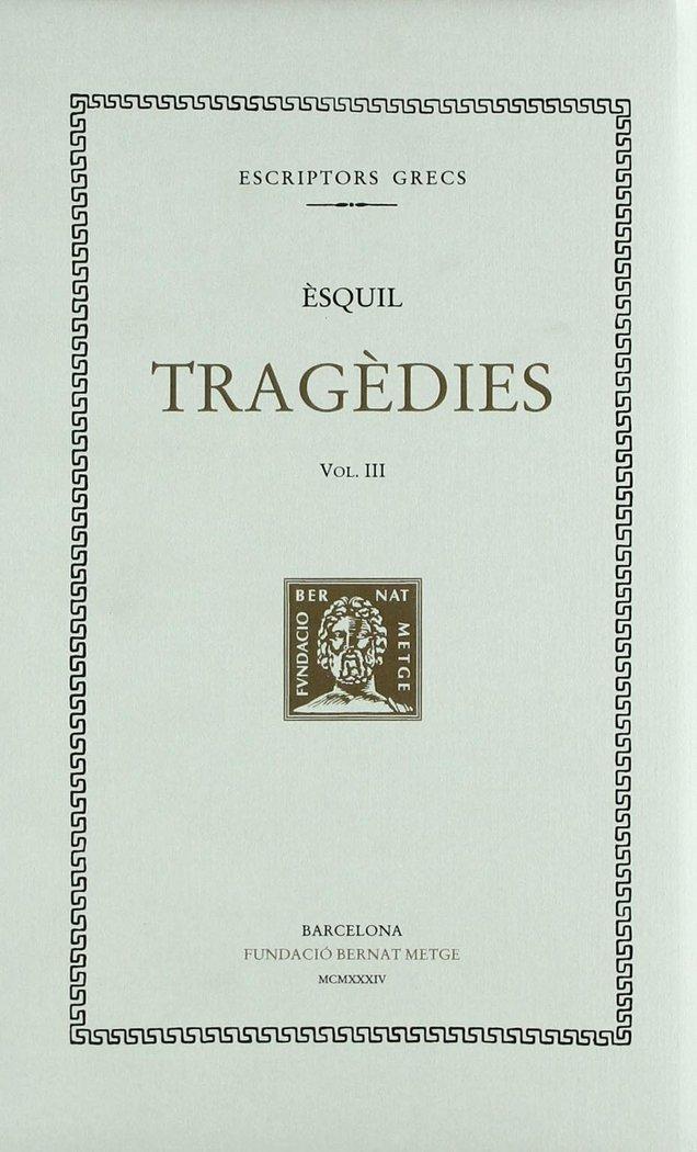 Tragedies vol iii - rtc - cat