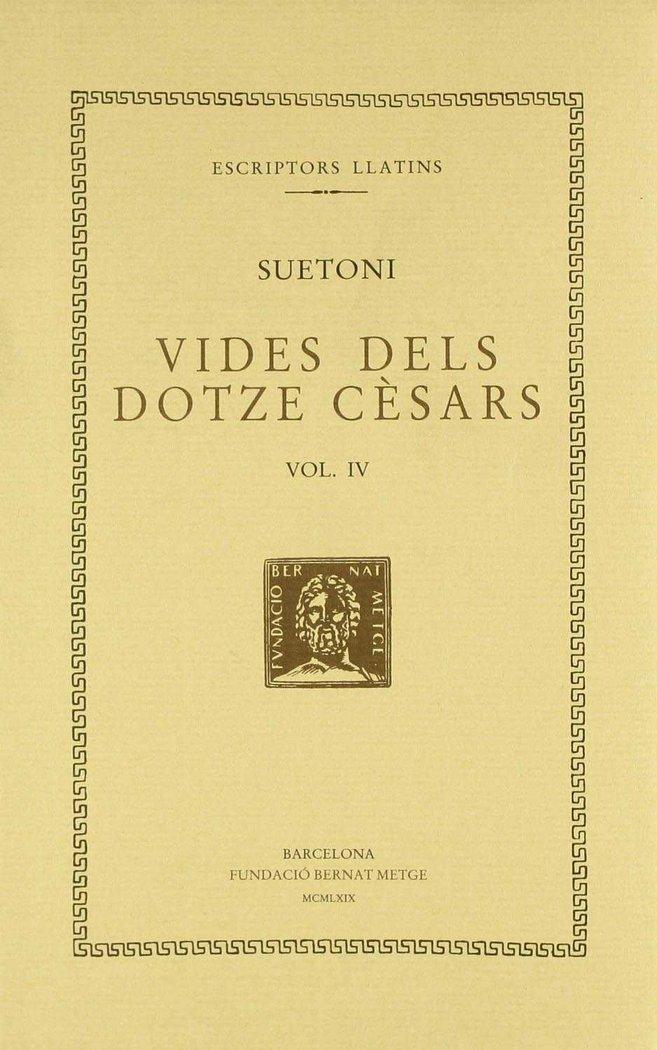 Vides dels dotze cesars - vol iv - claudi