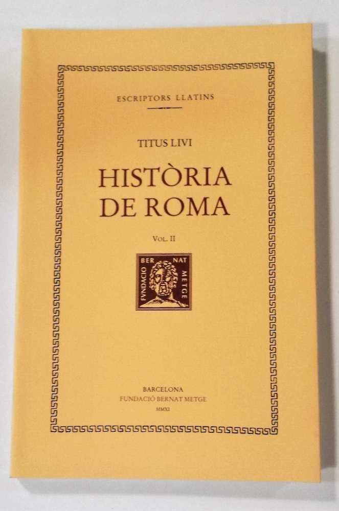 Historia de roma vol ii (r) cat