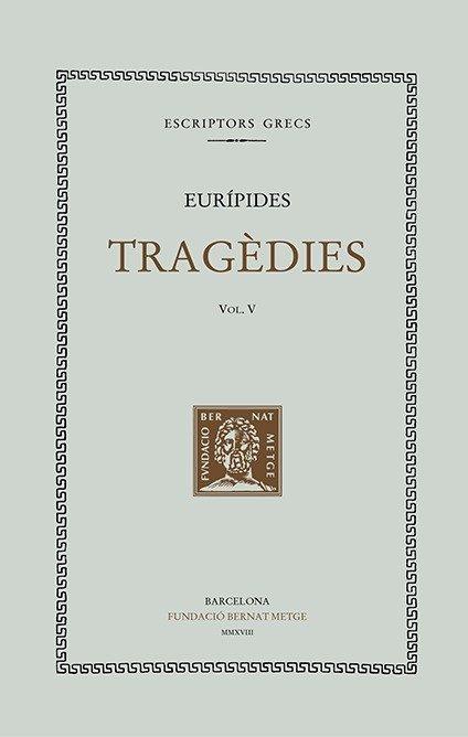 Tragedies vol v - cat - tela