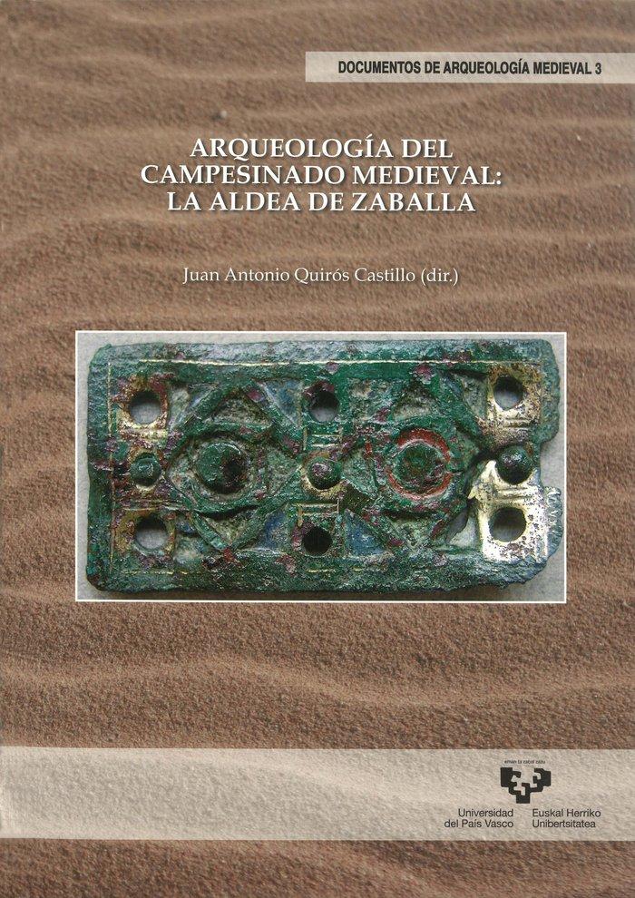 Arqueologia del campesinado medieval: la aldea de zaballa