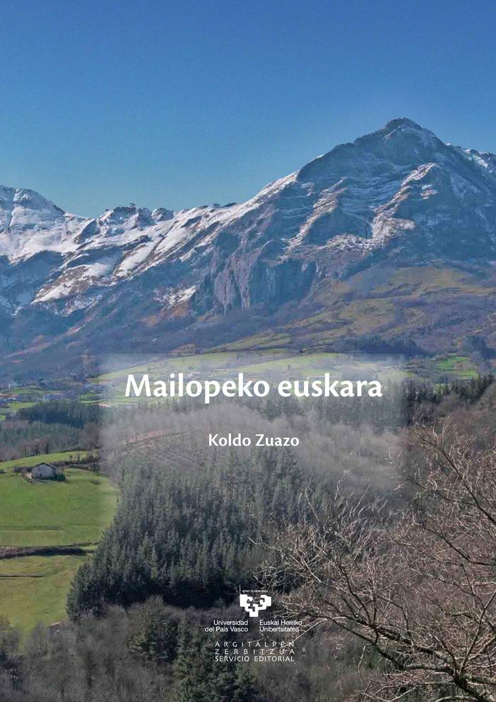 Mailopeko euskara