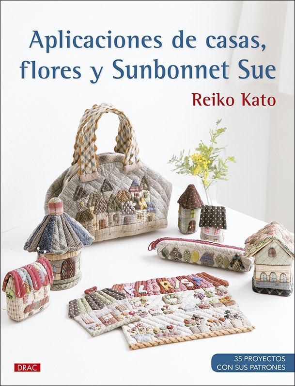 Aplicaciones de casas flores y sunbonnet
