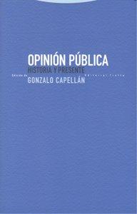 Opinion publica historia y presente