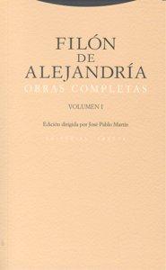 Filon de alejandria obras completas i