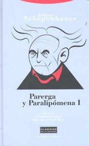 Parerga y paralipomena i 2ªed
