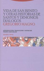 Vida san benito otras historias santos y demonios dialogos
