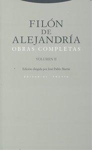 Filon de alejandria obras completas ii