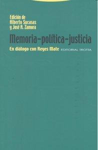 Memoria politica justicia