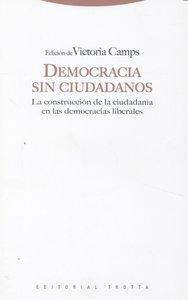 Democracia sin ciudadanos