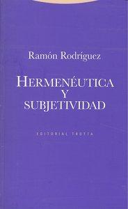 Hermeneutica y subjetividad