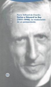 Cartas a edouard le roy 1921 1946