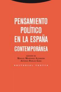 Pensamiento politico en la espaÑa contemporanea