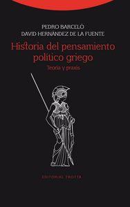 Historia del pensamiento politico griego