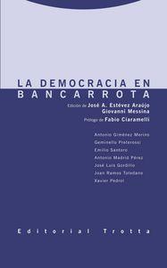 Democracia en bancarrota,la