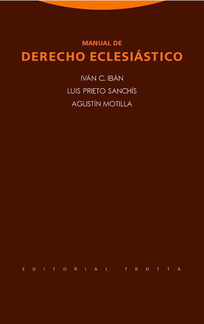 Manual de derecho eclesiastico