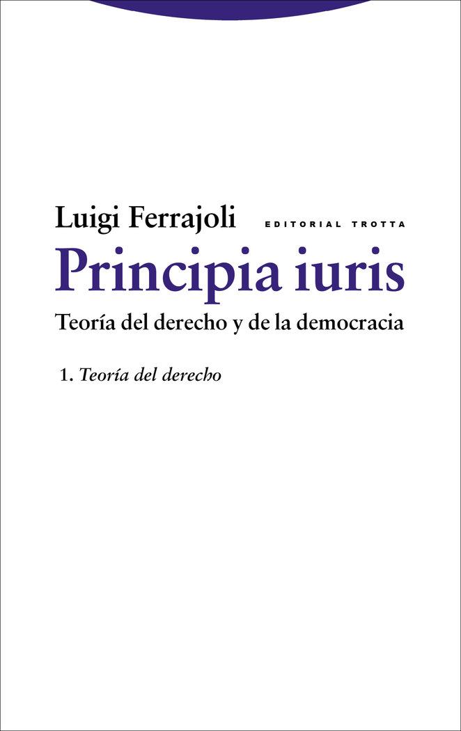 Principia iuris vol 1 ne teoria derecho y democracia