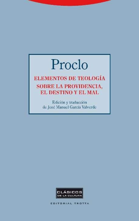 Elementos de teologia sobre la providencia el destino y el