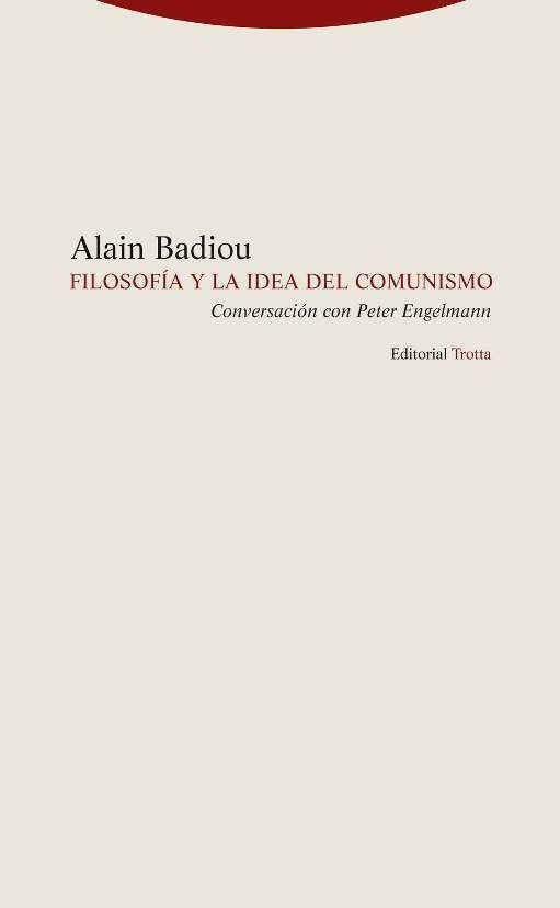 Filosofia y la idea del comunismo