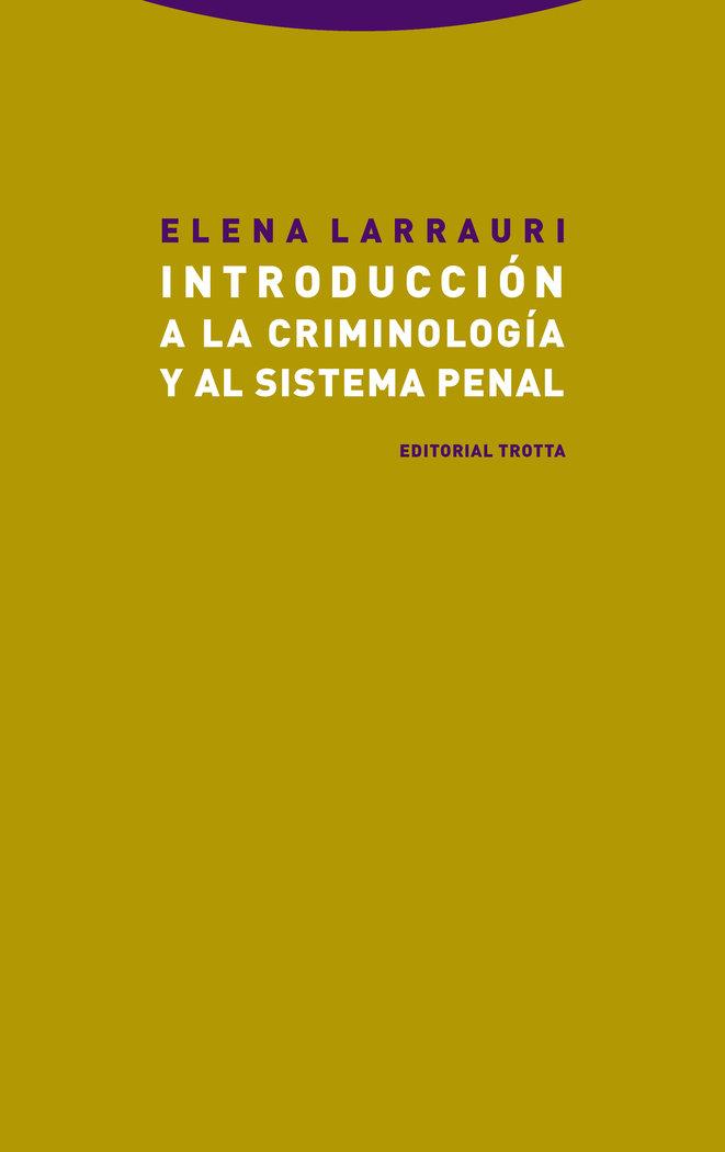 Introduccion a la criminologia y al sistema penal - ne